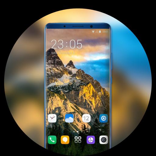 Theme for vivo v9 pro mountain wallpaper icon