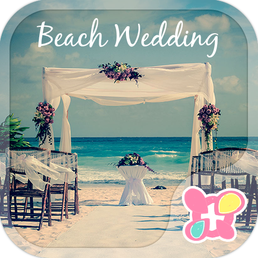 Cute Theme-Beach Wedding- Icon