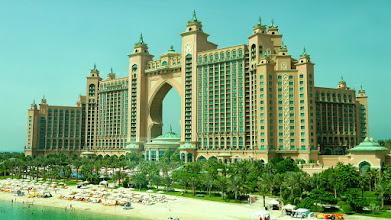 Photo: Das Hotel Atlantis auf der Palmeninsel Jumeira