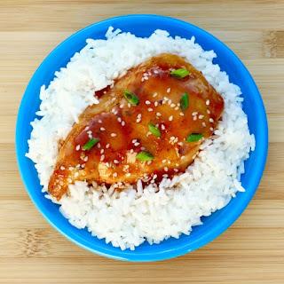 Slow Cooker Honey Garlic Chicken!