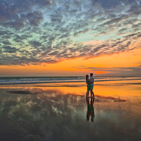 Embrace in Sunset by Goh Poh Leong - Landscapes Sunsets & Sunrises