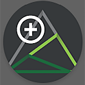Outmap: hikes, ski, and outdoor icon