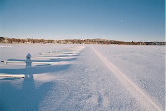 Photo: The marina at Samulinniemi