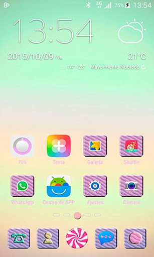Candy Sweet GO Launcher Theme