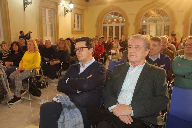 Manuel Guzmán, diputado provincial; y Rafael Morales, presidente de El Taranto.