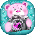 Cute Bear Photo Collage icon