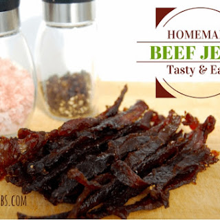 Homemade Beef Jerky.