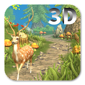 VA Painted Forest - 3D Live wallpaper