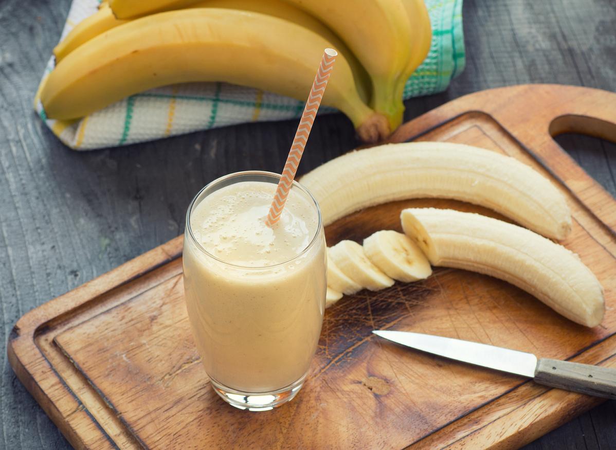 Vitamina de Banana Proteica