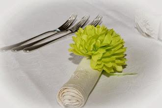 Photo: Изящна сватбена украса в ресторант Вила Марциана.