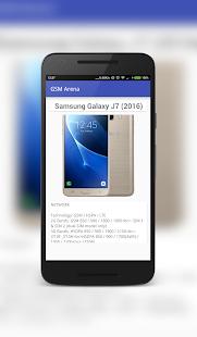 Phone GSM Arena screenshot