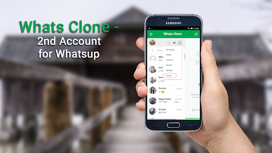Whats Clone - 2nd Account for Whatsup - náhled