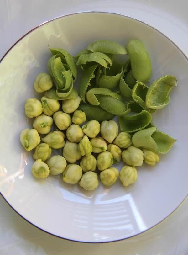 Three Bean Salad W/fresh Garbanzo Beans