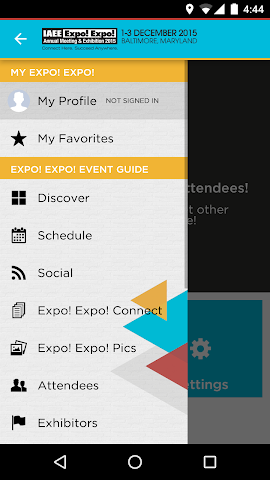 android Expo! Expo! Annual Meeting '15 Screenshot 1