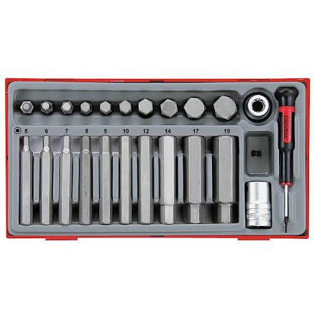 Insexhylssats Teng Tools TTHEX23