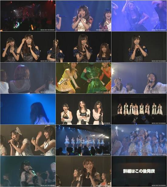 (LIVE)(720p) SKE48 チームS「重ねた足跡」公演 (大矢真那卒業発表) LIVE Ver. 170626
