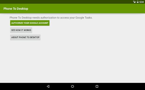 Phone To Desktop- screenshot thumbnail