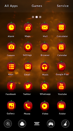 GO Launcher Pumpkin Theme
