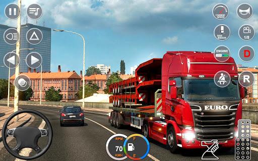 Indian Mountain Heavy Cargo Truck : Euro Truck Sim 1.0.1 screenshots 1
