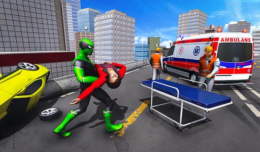 Frog Ninja Hero Gangster Vegas Superhero Games 1.1 screenshots 13