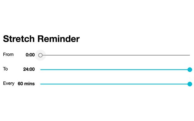 desk stretch reminder
