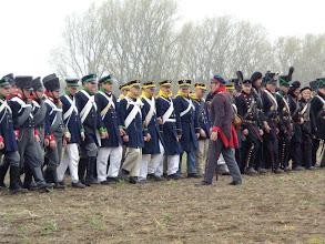 Photo: Czarny orzeł Franków goni, poszli nasi w bój bez broni.