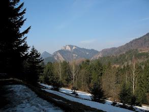 Photo: 19.Trzy Korony (982 m) ciągle mi towarzyszą.