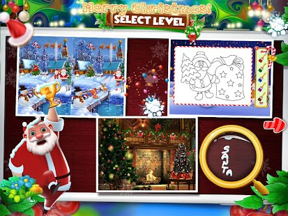 Christmas Hidden Object & Spot The Difference - náhled