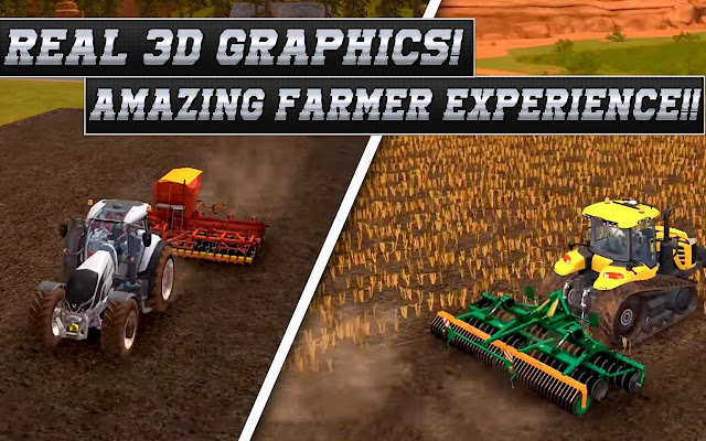 Real Tractor Farming Simulator Game