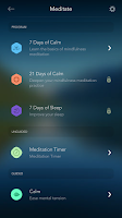 Screenshot of Calm - Meditate, Sleep, Relax