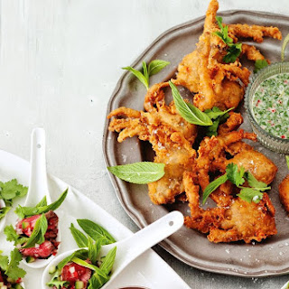 Soft Shell Crab With Coconut Dressing