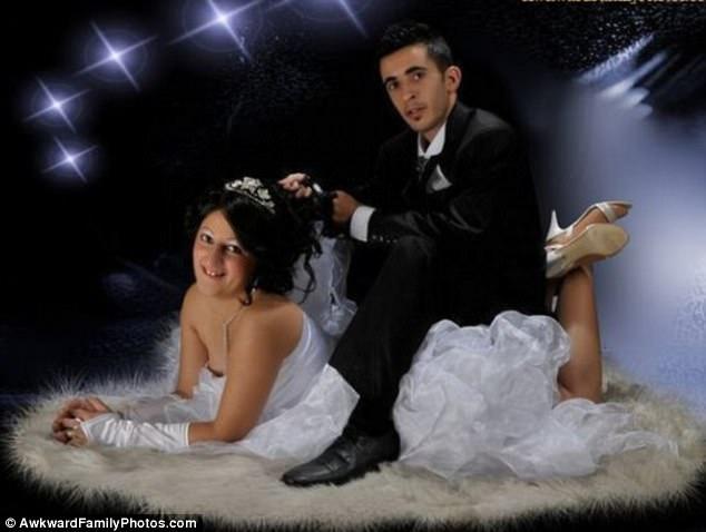 En Garip Düğün Fotoğrafları