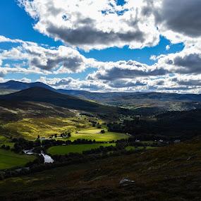 Hills of Sutherland by Morag Soszka - Landscapes Mountains & Hills ( scotland, hills, ardgay. sutherland. highlands . hills, landscape )