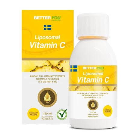 Better You Liposomal Vitamin C 150ml