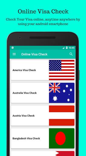 Visa Check Status : Online Visa Checking Software photos 1