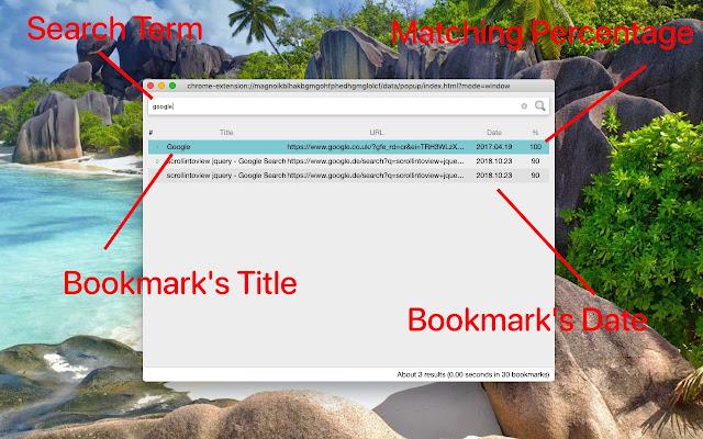 Advanced Bookmark Search