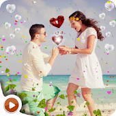 Love Heart Photo Effect Video Maker & photo to Gif