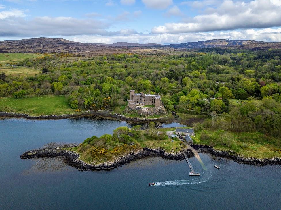 Szkocja, Dunvegan Castle, szkockie zamki