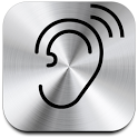 Super Hearing - audio ear aid icon