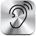 Super Hearing - audio ear aid icon