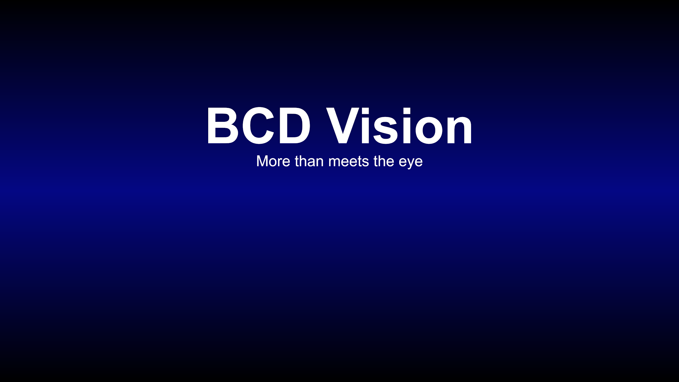 BCD Vision