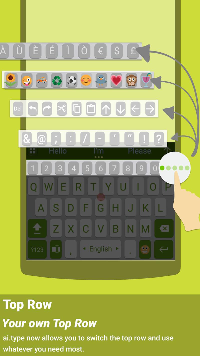ai.type keyboard Plus + Emoji Screenshot 6