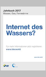 SVGW Jahrbuch - náhled