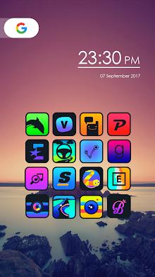 Womba - Icon Pack screenshot 1