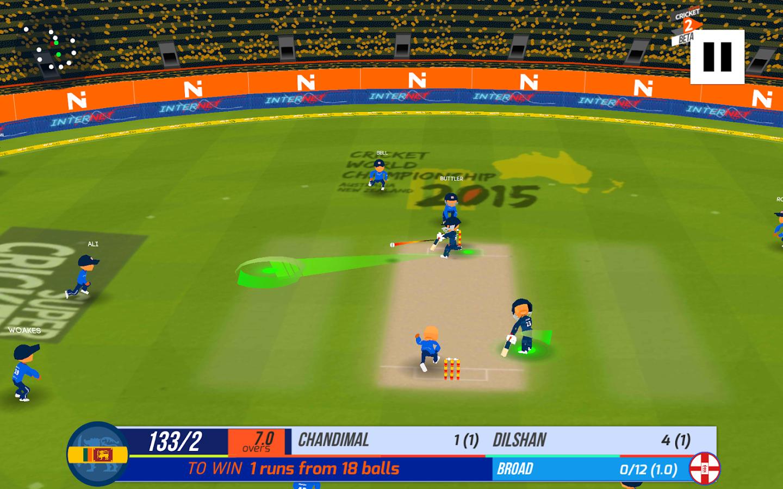 Super cricket 2 screenshot