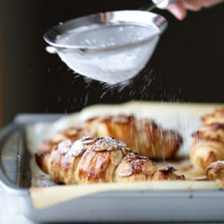 Puff Pastry Almond Croissants.