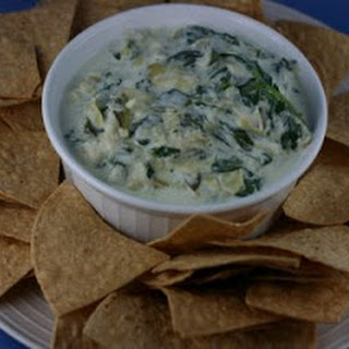 CrockPot Spinach and Artichoke Dip.