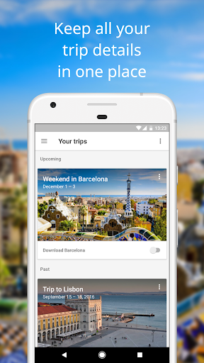 Google Trips - Travel Planner for PC