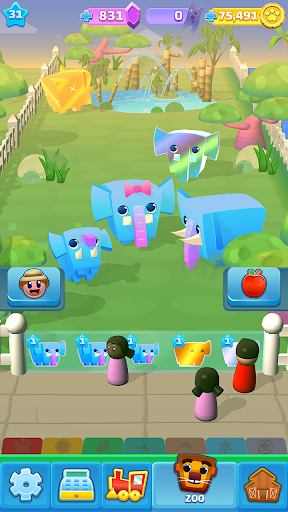 Spin a Zoo - Tap, Click, Idle Animal Rescue Game! apkdebit screenshots 6