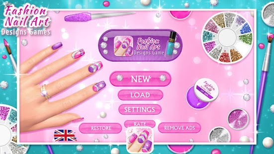 Fashion Nail Art Designs Game Screenshot